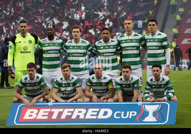 Celtic Fc Team Stock Photos Images Alamy Aberdeen Betrfred League