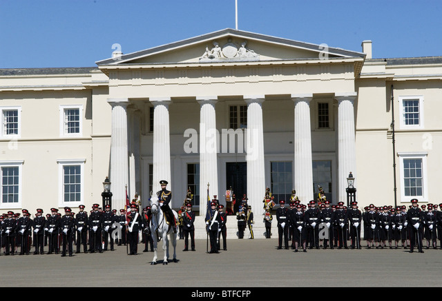 places royal military academy sandhurst united kingdom where stay
