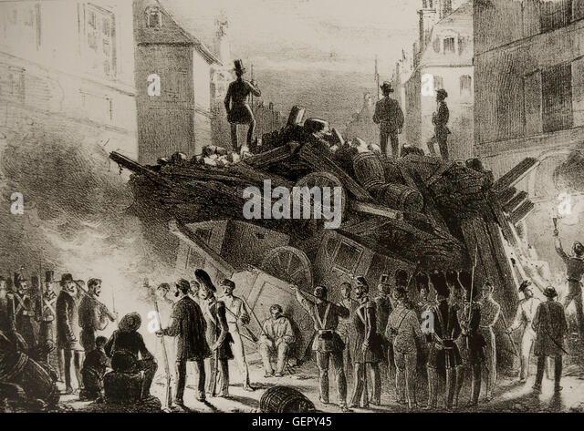 a history of the revolution of 1848 in france The causes of the french revolution of 1848 were both economic and political the strongest contributing factor was political contentions between the working and.