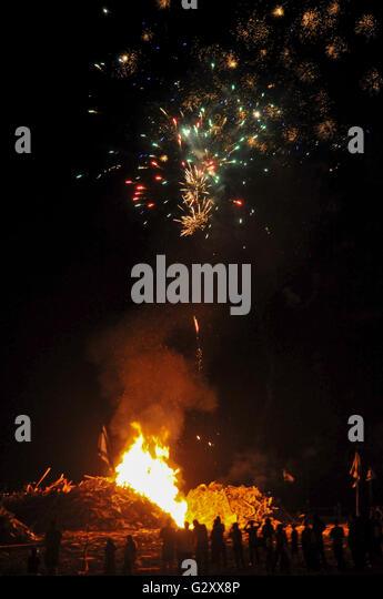 Bonfire Night  In Barry Island