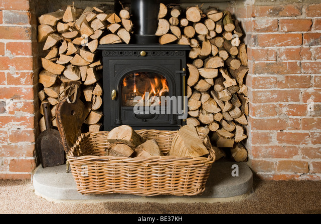 Find the perfect wood burning fireplace stock photo. Huge collection