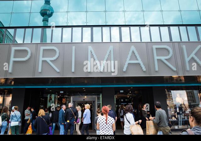 primark in alexanderplatz berlin germany stock image - Primark Online Bewerbung