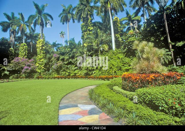 Sunken Gardens Florida Stock Photos Sunken Gardens Florida Stock Images Alamy