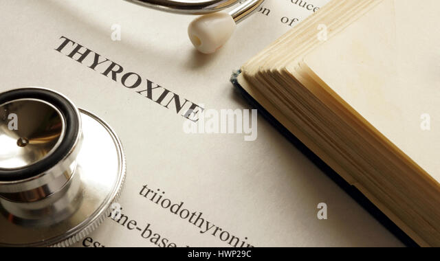 thyroxine coffee
