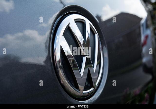 Volkswagen Logo Stock Photos Amp Volkswagen Logo Stock