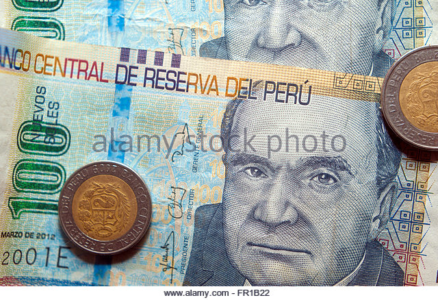 Notes geld trading stock photos notes geld trading stock images peruvian soles peru sol currency notes and coins stock image thecheapjerseys Image collections