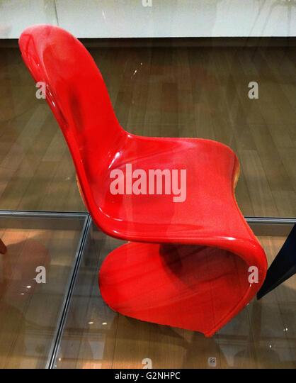 Verner Panton Panton Chair panton chair stock photos panton chair stock images alamy