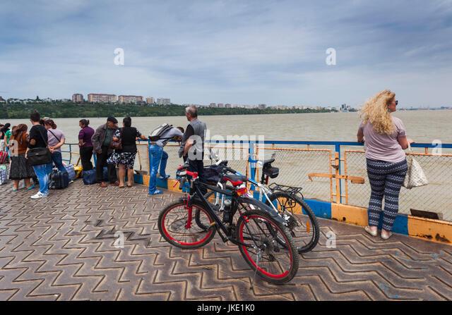 Romania Danube River Delta Galati Port Ferry To IC Bratianu