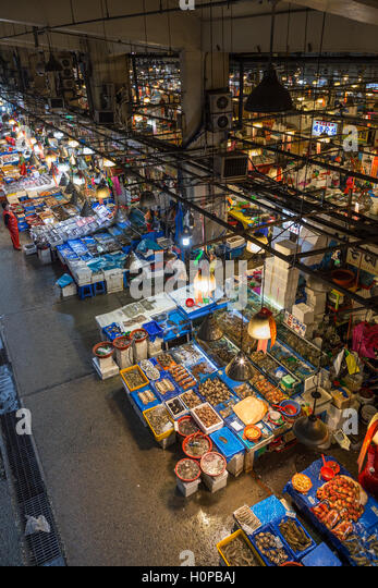 Noryangjin market stock photos noryangjin market stock for Wholesale fish market
