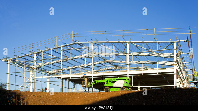 Industrial building stock photos industrial building for Building under construction insurance