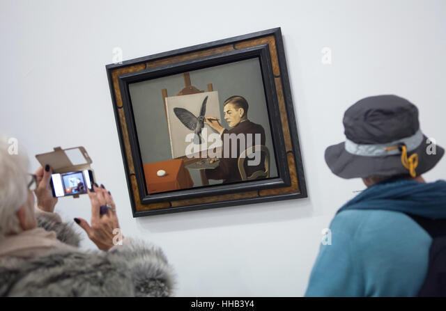 Magritte Painting Stock Photos Magritte Painting Stock