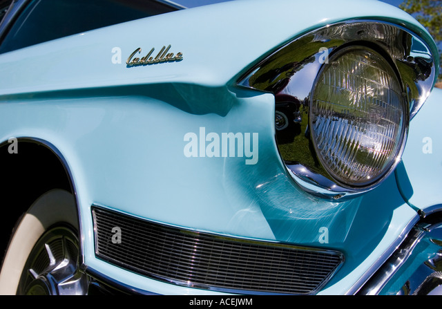 Vintage Automobile Front Center With One Headlight : Headlight stock photos images