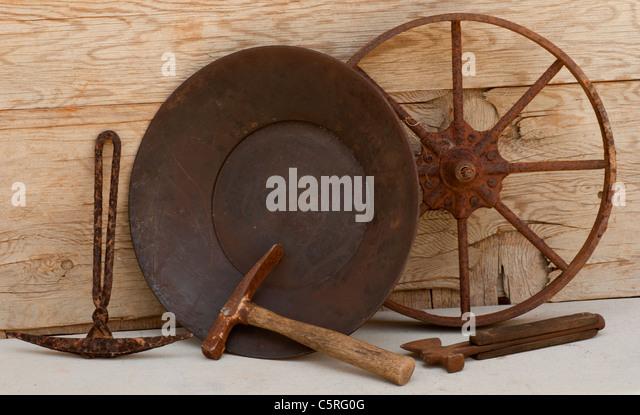 mining tools vintage