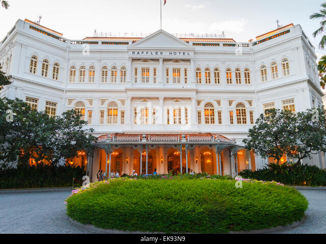 Hotel in SINGAPORE - Raffles Singapore (Re-Opening Middle