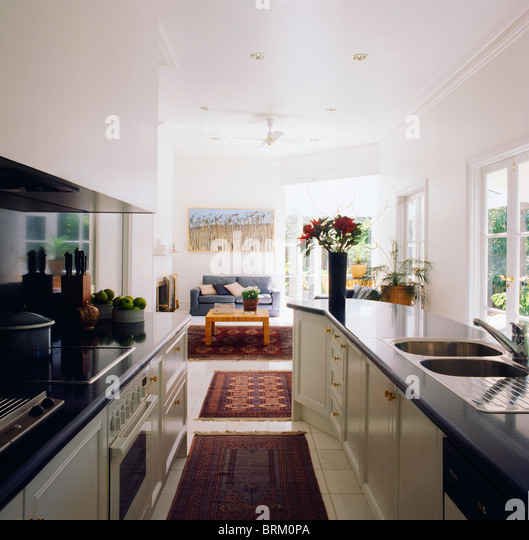 Floor rugs stock photos floor rugs stock images alamy for Galley kitchen open to living room