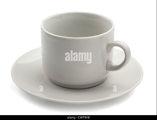 Empty Tea Cup And Saucer Stock Photos & Empty Tea Cup And ...