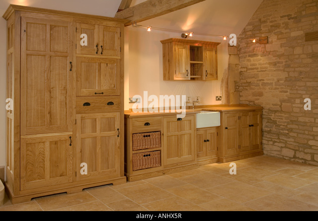 Fitted units stock photos fitted units stock images alamy for Wooden fitted kitchen