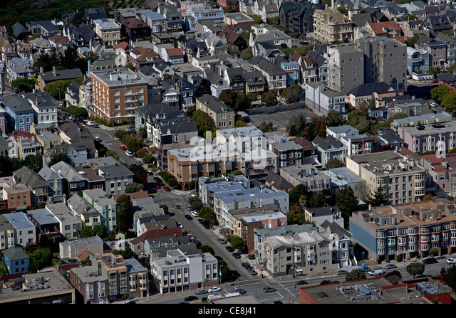 San francisco historical aerial photos - immaculate mary images