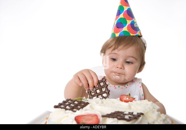 Old Girl Birthday Cake Stock Photos & 6 Year Old Girl Birthday Cake ...