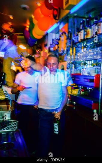 Paris french bar stock photos paris french bar stock images alamy - Bar le central ...