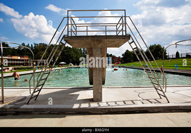 German expressionism stock photos german expressionism for Otto swimmingpool