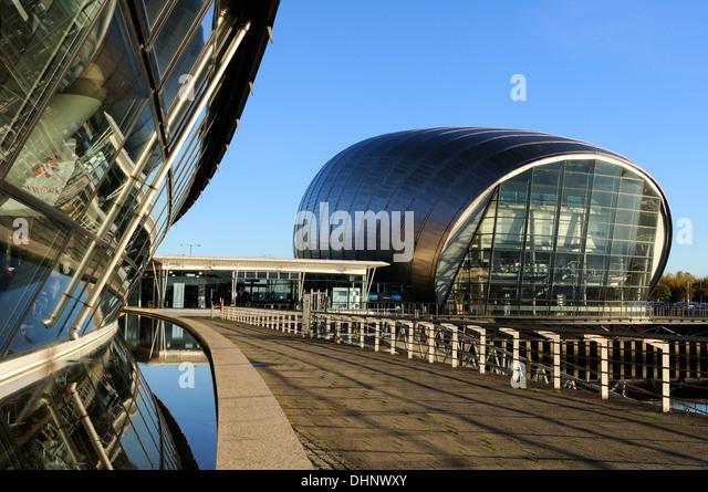 Glasgow Science Centre Car Park