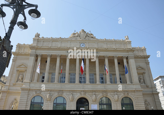 Massilia stock photos massilia stock images alamy for Chambre de commerce marseille horaires