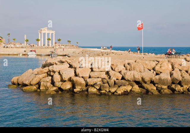 Turkey side harbour stock photos turkey side harbour for Anatolia mediterranean cuisine orlando