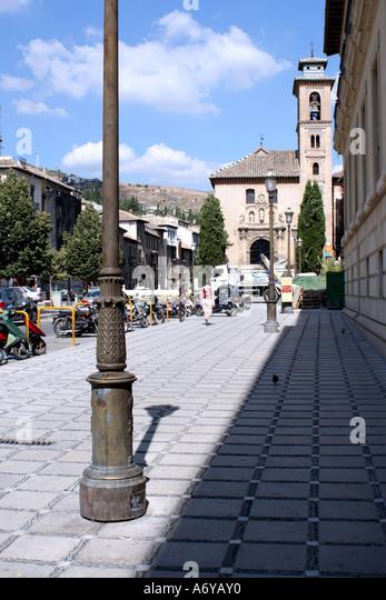 Castle of santa ana stock photos castle of santa ana - Santa ana granada ...
