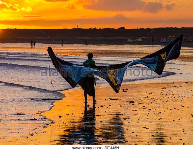 Kite Surfer Hayling Island