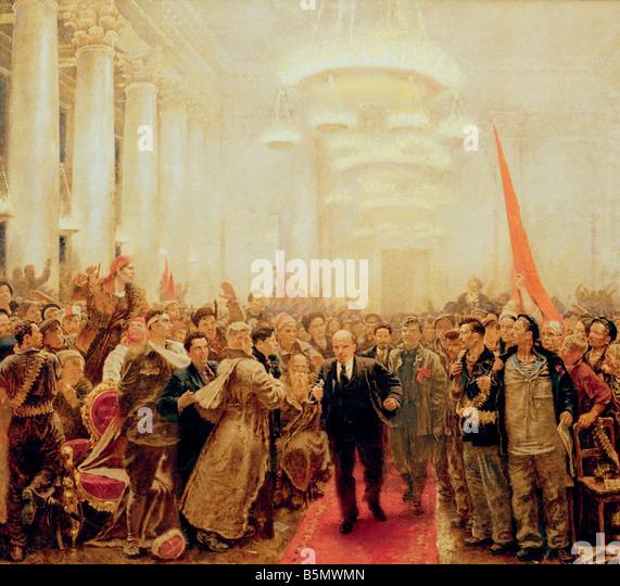 lenin and the russian revolution of 1917 essay Vladimir lenin led the bolshevik revolution, helped create the soviet  lenin  engineered the bolshevik revolution in russia in 1917 and later.