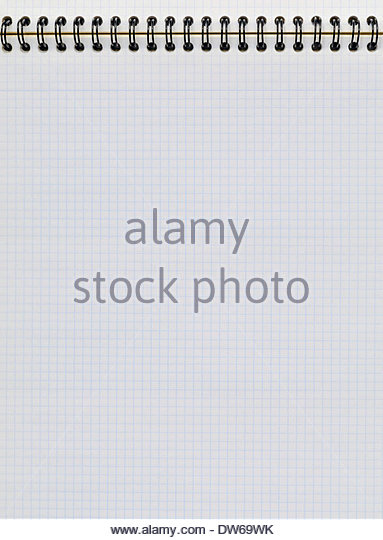 Empty Block White Lined Paper Stock Photos & Empty Block White Lined ...