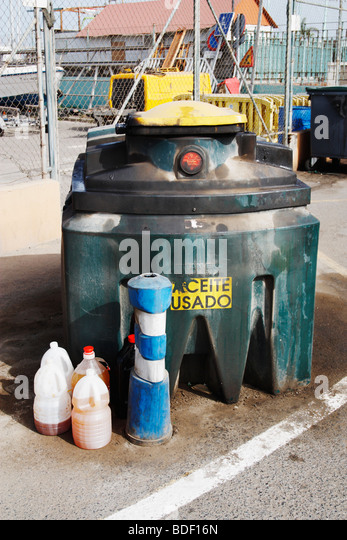 Recycle Cooking Oil Stock Photos Recycle Cooking Oil