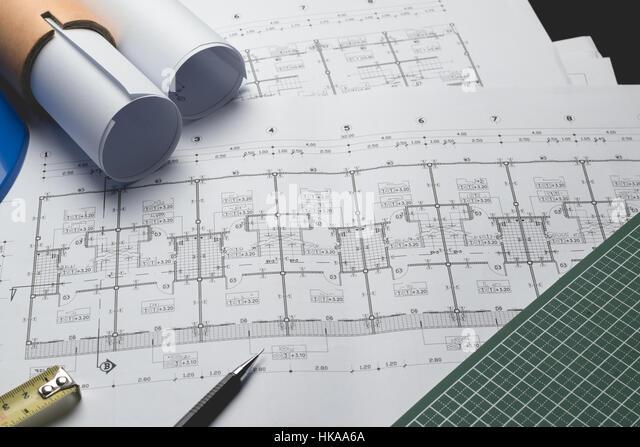 Engineering diagram blueprint paper drafting project sketch stock engineering diagram blueprint paper drafting project sketch stock photo 132378578 alamy malvernweather Images