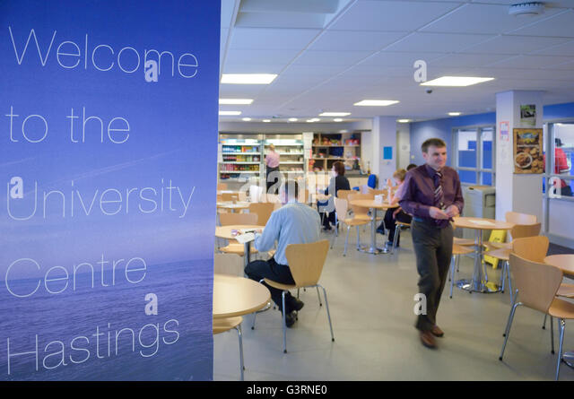 Refectory At The University Centre Hastings East Sussex