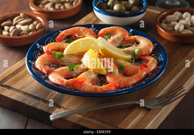 Plancha-Style Shrimp Recipe — Dishmaps