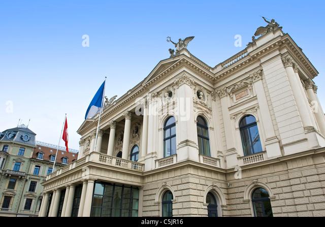 Opernhaus zurich stock photos