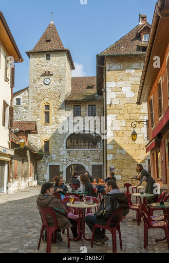 Old cafe france stock photos old cafe france stock images alamy - Restaurant thiou paris ...