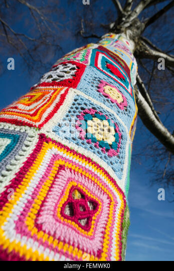 Guerilla Knitting Patterns : Guerilla Knitting Stock Photos & Guerilla Knitting Stock Images - Alamy