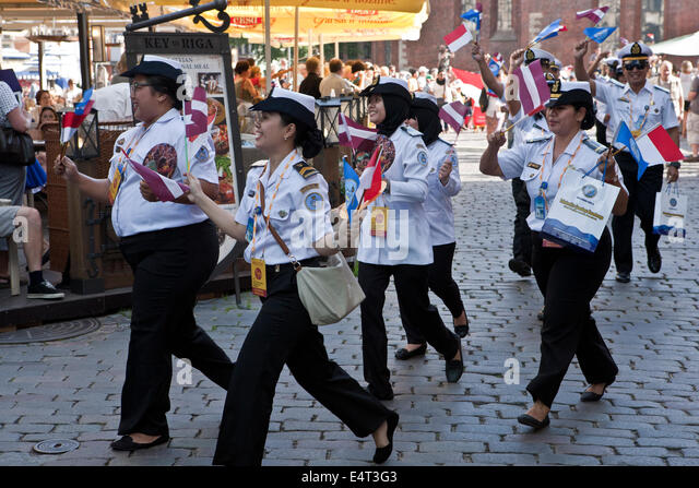 Games the latvian women choir