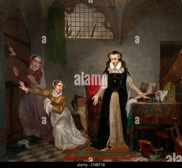 a history of the death of mary queen scots James v, king of scots died on 14th december, 1542  just six days after the  birth of his daughter mary, who now became mary queen of scots  history hit.