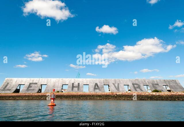 Le grand havre stock photos le grand havre stock images alamy - Grand port maritime du havre ...