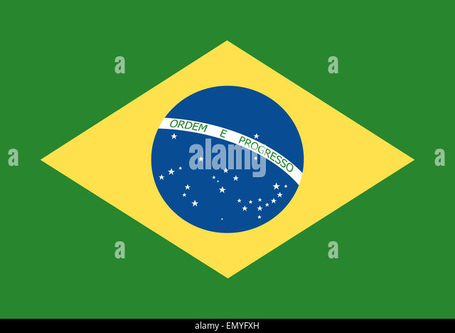 Brazil Map Flag Stock Photos Brazil Map Flag Stock Images Alamy - Federative republic of brazil map