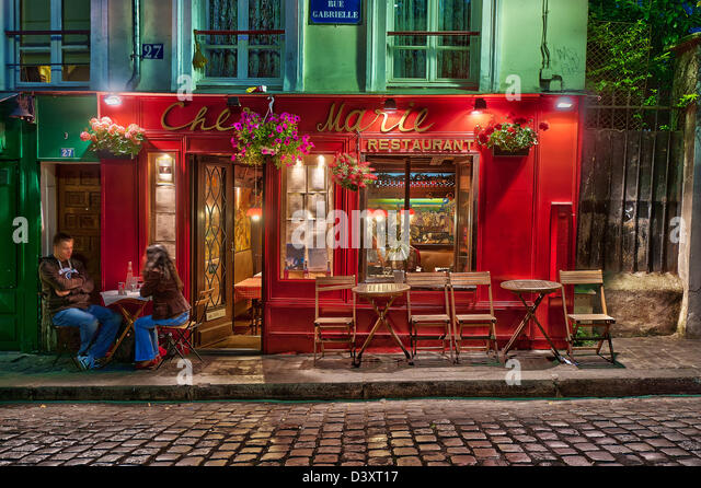 Gabrielle stock photos gabrielle stock images alamy for Restaurant chez marie marseille