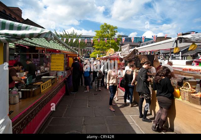 Festival Food St Pancras London