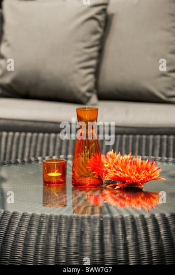 Sitzecke stock photos sitzecke stock images alamy for Deco de table orange