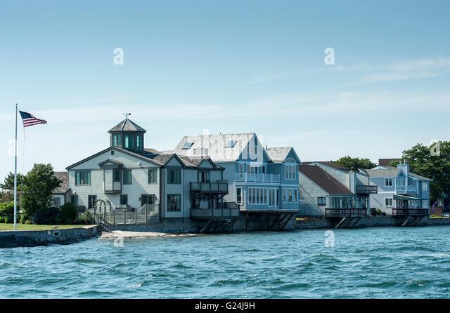 Newport rhode island stock photos newport rhode island for Rhode island home builders