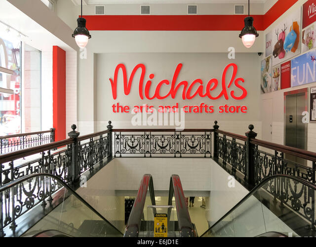 Michaels nyc stock photos michaels nyc stock images alamy for Michael arts and craft