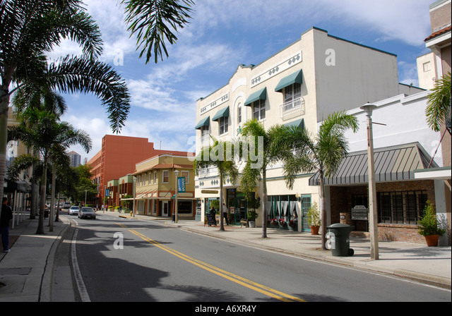 Downtown Fort Myers Stock Photos Amp Downtown Fort Myers