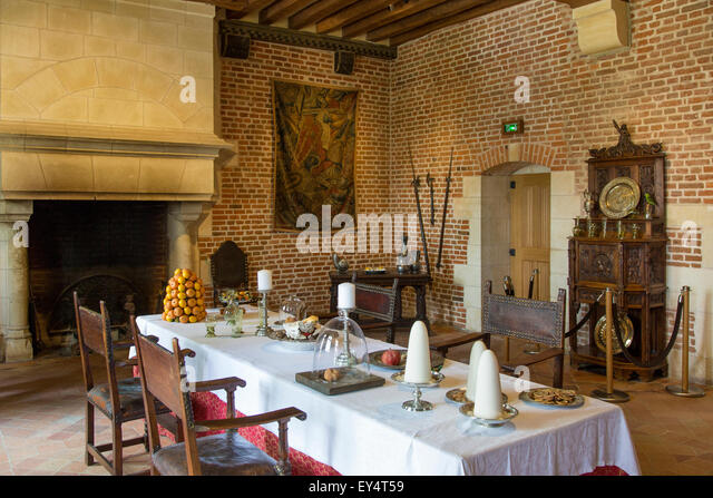 France indre et loire amboise chateau leonardo da vinci for Leonardo s dining room